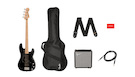 FENDER Affinity Precision PJ Bass MN Black R15 Pack