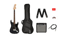 FENDER Squier Affinity Stratocaster HSS LRL Charcoal Frost Metallic Pack