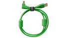 UDG U95004GR Ultimate Audio Cable USB A-B 2.0 Green Angled 1m