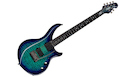 STERLING BY MUSIC MAN Majesty DiMarzio 6 Cerulean Paradise