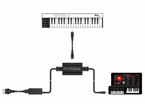 IK MULTIMEDIA iRig PowerBridge (versione Lightning)