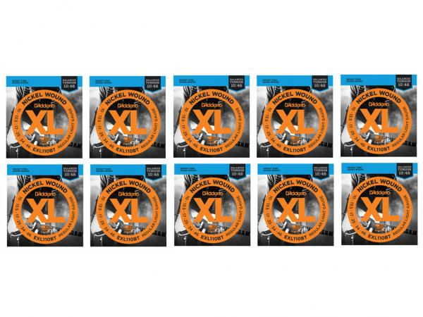 D'ADDARIO EXL110BT (pack 10 Mute) Balanced Tension