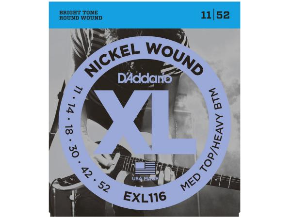 D'ADDARIO EXL116 Medium Top / Heavy Bottom