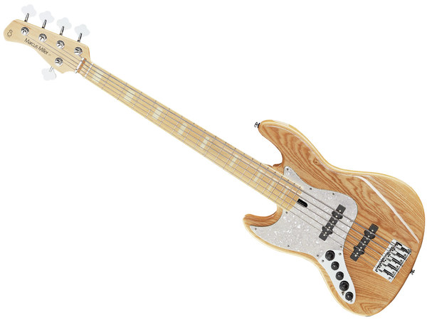 MARCUS MILLER V7 Swamp Ash 5 NT Natural (Left Hand)