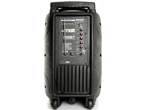 MAX P12BT Portable Sound System 12