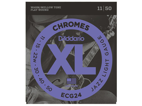 D'ADDARIO ECG24 Chromes Jazz Light
