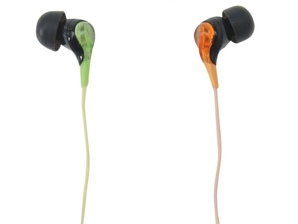 TDK SIE20 Stereo Active Glow - Yellow Green
