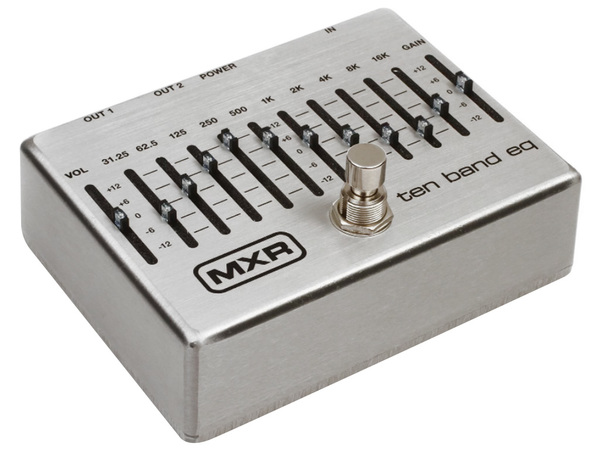 MXR 10 Band Graphic EQ - M108S