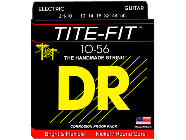 DR STRINGS JH-10 Tite-Fit Jeff Healey