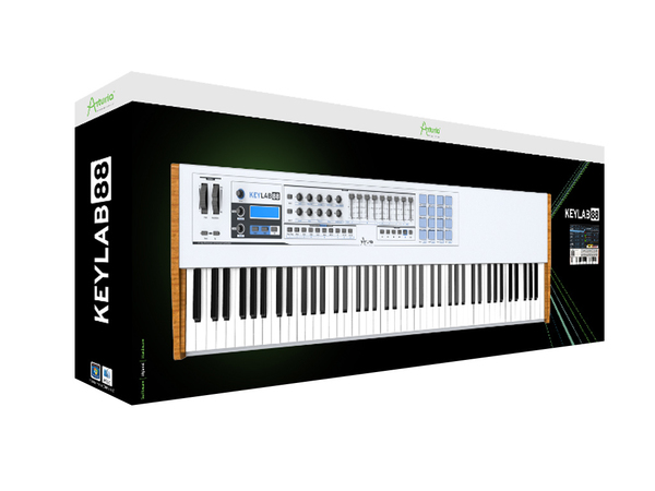 ARTURIA KeyLab 88 + V Collection 7 Omaggio!