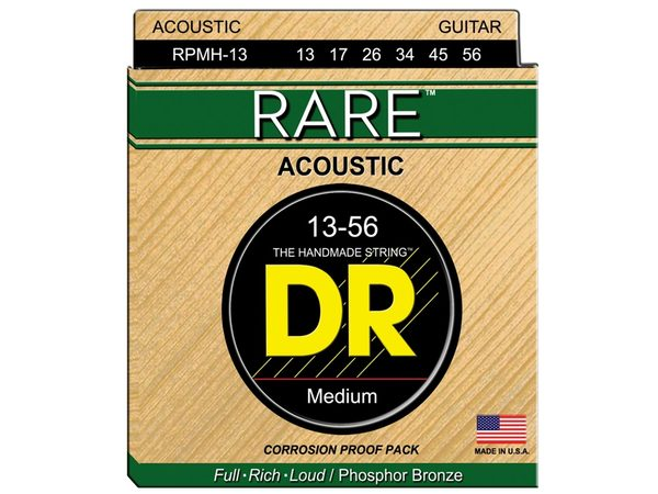 DR STRINGS RPMH-13 Rare Phosphor Bronze