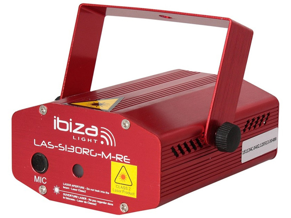 IBIZA Mini Firefly Laser Red/Green 100+30mW (red)