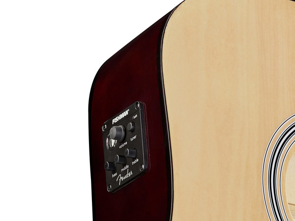 FENDER Squier SA105CE Natural