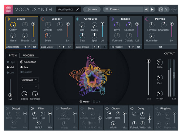 IZOTOPE VocalSynth 2 - Upgrade from Music Production Suite (download)