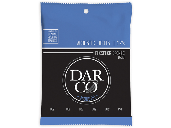 MARTIN D220 Darco Acoustic Light Phosphor Bronze