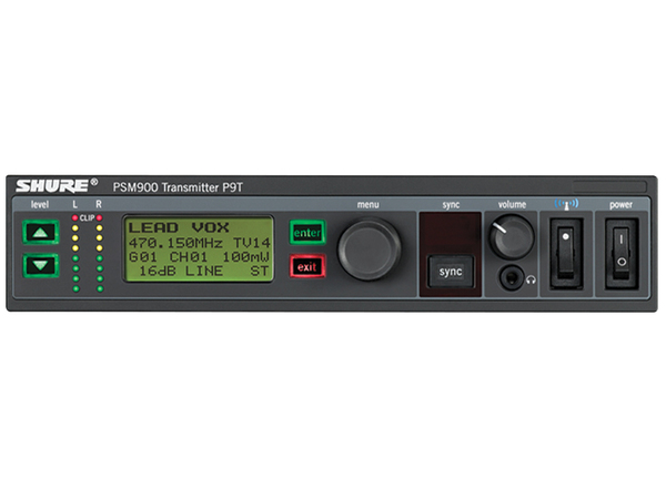 SHURE P9T Wireless Transmitter PSM900
