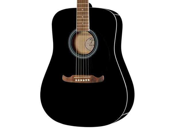 FENDER FA125 Dreadnought Black