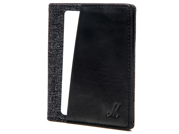 MARSHALL Wallet Denim & Leather