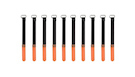 ROCKBOARD Cable Ties 10mmx120mm, Orange (10)