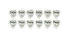 TAYLOR Celluloid 351 Guitar Picks White Pearl 1.21mm (X-Heavy) 12-Pack